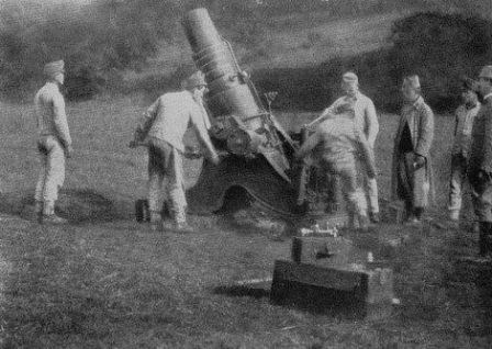 Austro-Hungarian Heavy Trench Mortar