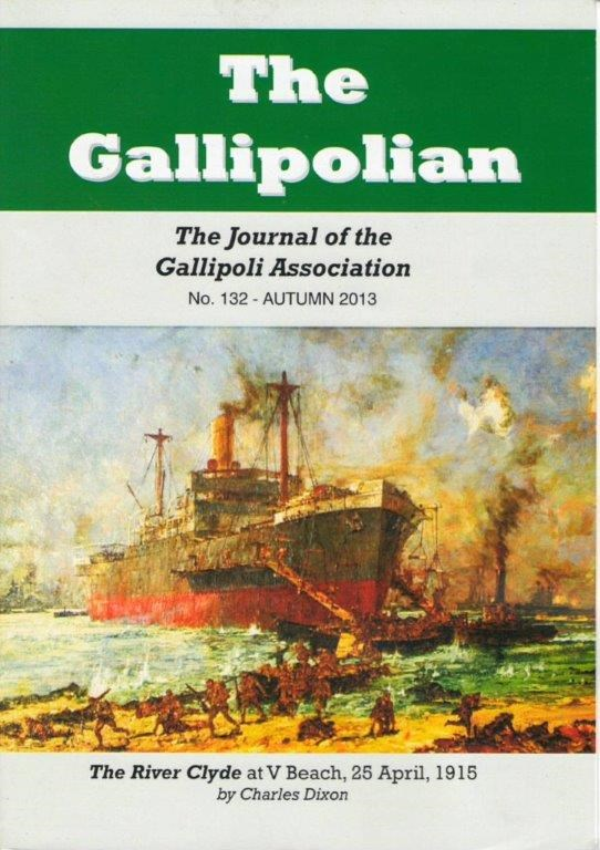 The Gallipolian - Winter 2015