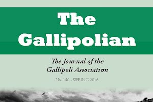 Gallipolian Autumn issue (No.141) out soon