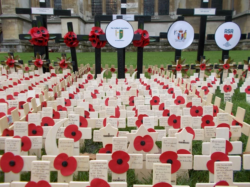 Field Of Remembrance - Westminster Abbey - UPDATE