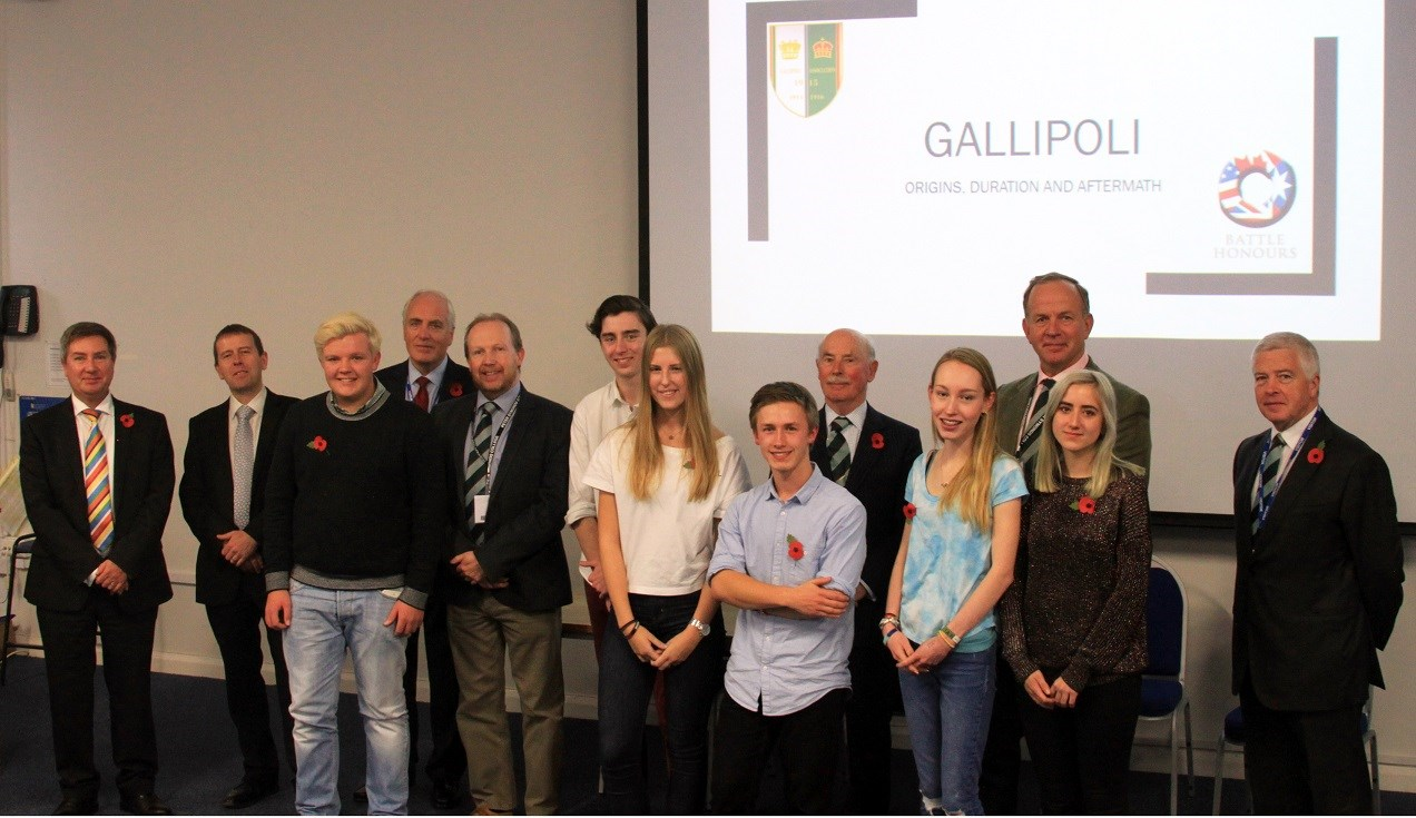 Gallipoli Tour students present their research and talk about 'a fantastic experience'